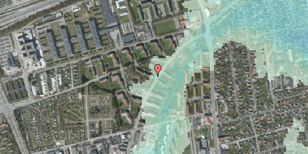 Stomflod og havvand på Arnold Nielsens Boulevard 16, st. th, 2650 Hvidovre
