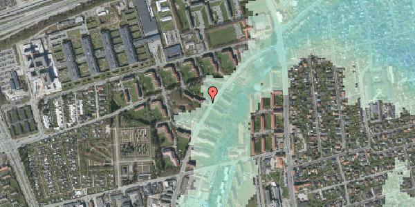 Stomflod og havvand på Arnold Nielsens Boulevard 16, 2. tv, 2650 Hvidovre