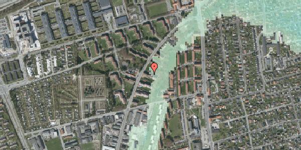 Stomflod og havvand på Arnold Nielsens Boulevard 17, 2. tv, 2650 Hvidovre