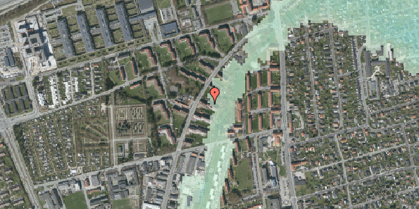 Stomflod og havvand på Arnold Nielsens Boulevard 17, 3. tv, 2650 Hvidovre