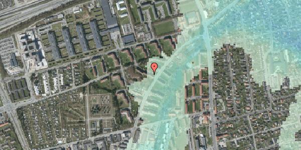 Stomflod og havvand på Arnold Nielsens Boulevard 18, 2. tv, 2650 Hvidovre