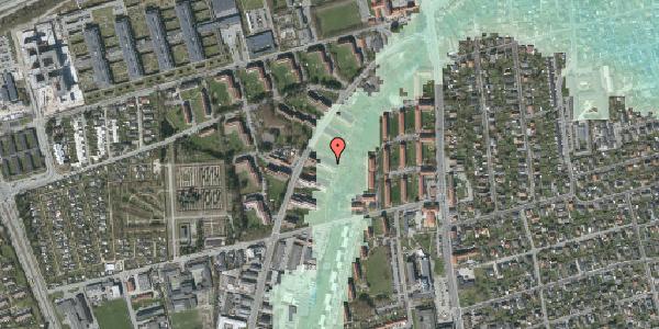 Stomflod og havvand på Arnold Nielsens Boulevard 19, st. th, 2650 Hvidovre
