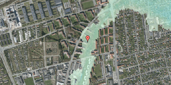 Stomflod og havvand på Arnold Nielsens Boulevard 19, 1. tv, 2650 Hvidovre