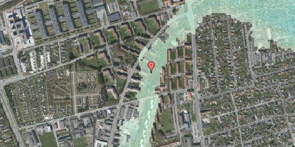 Stomflod og havvand på Arnold Nielsens Boulevard 21, 1. tv, 2650 Hvidovre