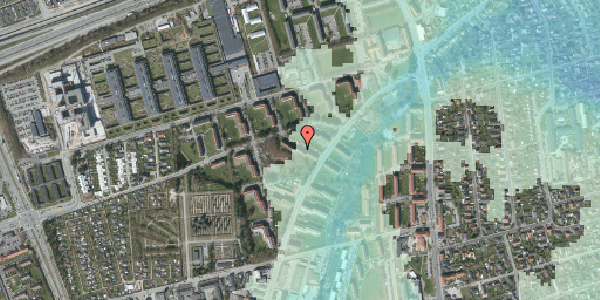 Stomflod og havvand på Arnold Nielsens Boulevard 22, 1. tv, 2650 Hvidovre