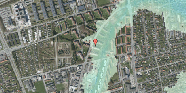 Stomflod og havvand på Arnold Nielsens Boulevard 23, 1. tv, 2650 Hvidovre