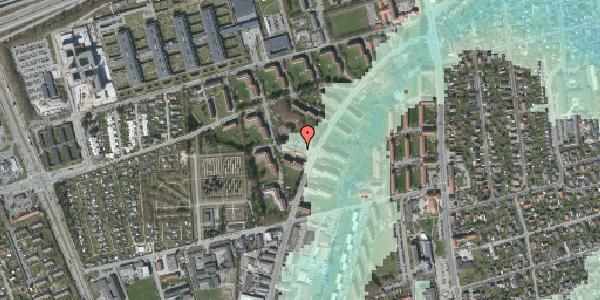 Stomflod og havvand på Arnold Nielsens Boulevard 24A, kl. , 2650 Hvidovre