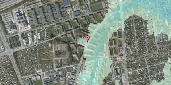 Stomflod og havvand på Arnold Nielsens Boulevard 24, kl. , 2650 Hvidovre