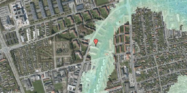 Stomflod og havvand på Arnold Nielsens Boulevard 25, 1. tv, 2650 Hvidovre
