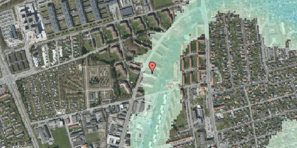 Stomflod og havvand på Arnold Nielsens Boulevard 25, 2. tv, 2650 Hvidovre