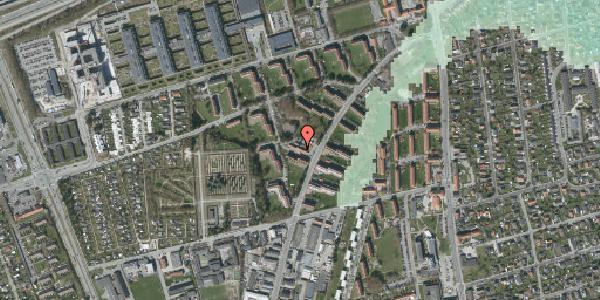 Stomflod og havvand på Arnold Nielsens Boulevard 26B, 2650 Hvidovre