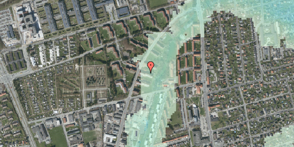 Stomflod og havvand på Arnold Nielsens Boulevard 27, 2. th, 2650 Hvidovre