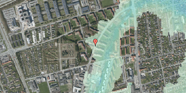 Stomflod og havvand på Arnold Nielsens Boulevard 28, st. th, 2650 Hvidovre