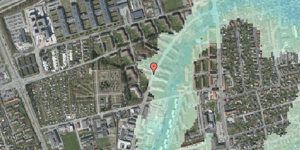 Stomflod og havvand på Arnold Nielsens Boulevard 28, 1. tv, 2650 Hvidovre