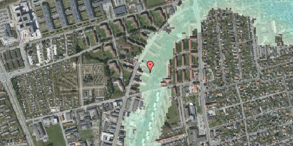 Stomflod og havvand på Arnold Nielsens Boulevard 29, st. th, 2650 Hvidovre