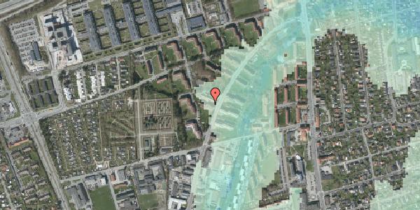 Stomflod og havvand på Arnold Nielsens Boulevard 30, 1. tv, 2650 Hvidovre