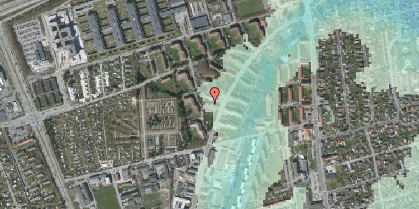 Stomflod og havvand på Arnold Nielsens Boulevard 32, 3. tv, 2650 Hvidovre