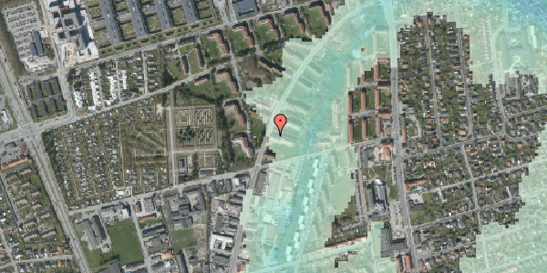 Stomflod og havvand på Arnold Nielsens Boulevard 33, 3. th, 2650 Hvidovre