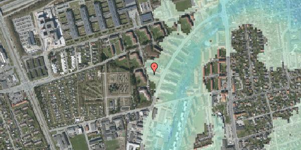 Stomflod og havvand på Arnold Nielsens Boulevard 34, st. th, 2650 Hvidovre