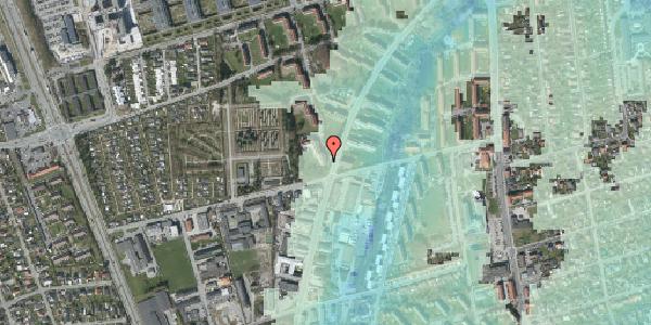 Stomflod og havvand på Arnold Nielsens Boulevard 36, 2. tv, 2650 Hvidovre