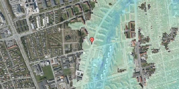 Stomflod og havvand på Arnold Nielsens Boulevard 36, 3. tv, 2650 Hvidovre