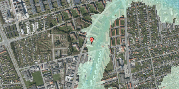 Stomflod og havvand på Arnold Nielsens Boulevard 37, st. th, 2650 Hvidovre