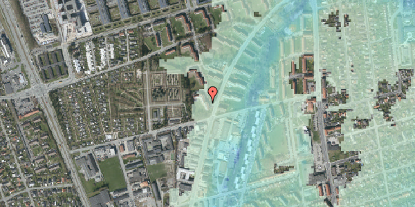 Stomflod og havvand på Arnold Nielsens Boulevard 38, st. tv, 2650 Hvidovre