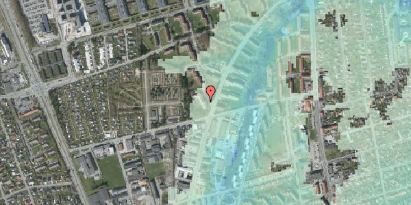 Stomflod og havvand på Arnold Nielsens Boulevard 38, 3. tv, 2650 Hvidovre