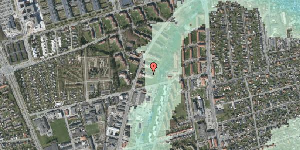 Stomflod og havvand på Arnold Nielsens Boulevard 39, st. tv, 2650 Hvidovre