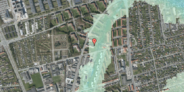 Stomflod og havvand på Arnold Nielsens Boulevard 39, 2. tv, 2650 Hvidovre