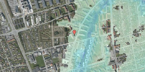 Stomflod og havvand på Arnold Nielsens Boulevard 40, 1. tv, 2650 Hvidovre