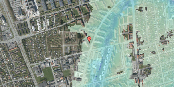 Stomflod og havvand på Arnold Nielsens Boulevard 40, 3. tv, 2650 Hvidovre