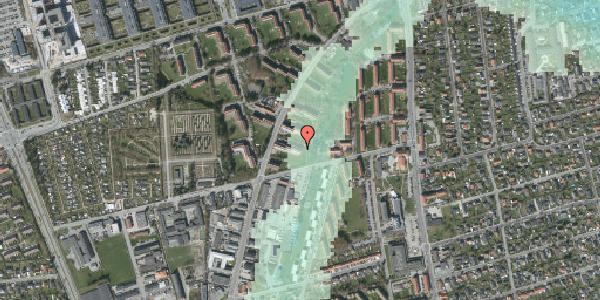Stomflod og havvand på Arnold Nielsens Boulevard 41, 1. tv, 2650 Hvidovre
