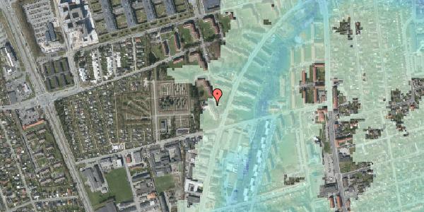 Stomflod og havvand på Arnold Nielsens Boulevard 42, 1. tv, 2650 Hvidovre