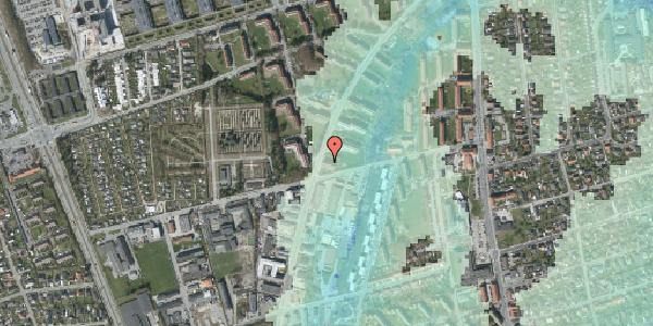 Stomflod og havvand på Arnold Nielsens Boulevard 43, st. tv, 2650 Hvidovre