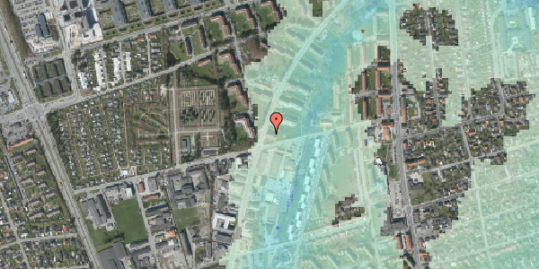 Stomflod og havvand på Arnold Nielsens Boulevard 43, 2. tv, 2650 Hvidovre