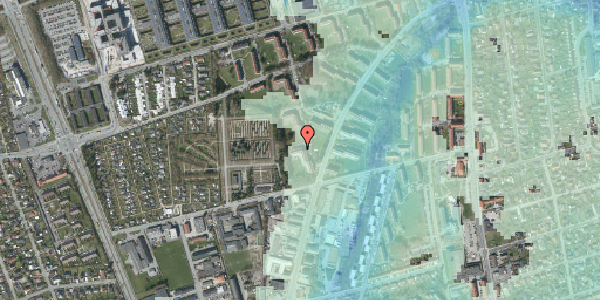 Stomflod og havvand på Arnold Nielsens Boulevard 44, 1. tv, 2650 Hvidovre