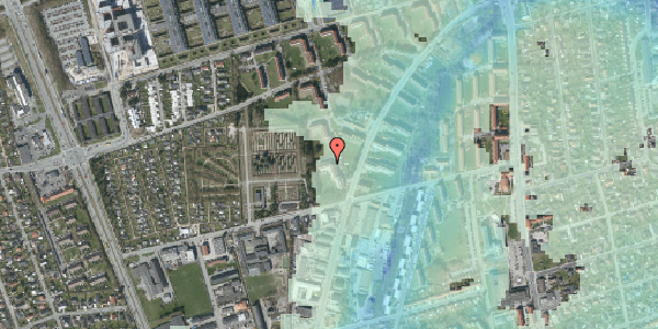 Stomflod og havvand på Arnold Nielsens Boulevard 44, 2. tv, 2650 Hvidovre