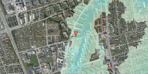 Stomflod og havvand på Arnold Nielsens Boulevard 45, 1. tv, 2650 Hvidovre