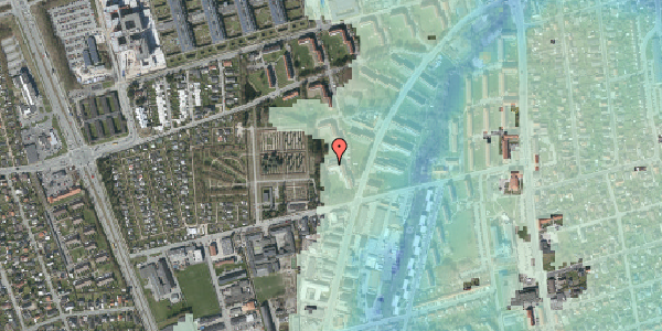 Stomflod og havvand på Arnold Nielsens Boulevard 46, 1. th, 2650 Hvidovre