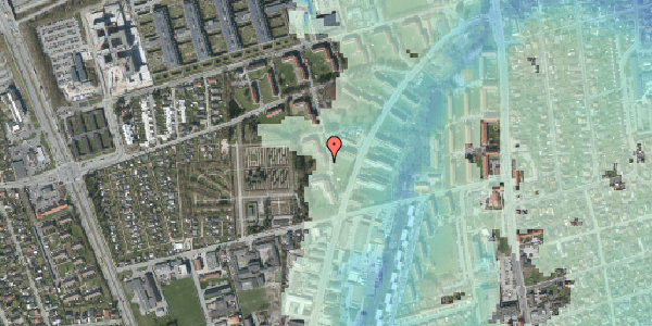 Stomflod og havvand på Arnold Nielsens Boulevard 48, 1. tv, 2650 Hvidovre