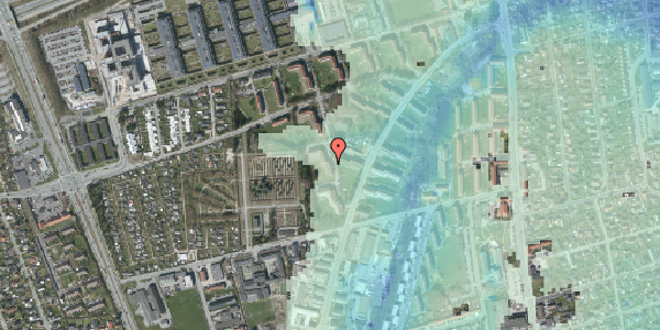 Stomflod og havvand på Arnold Nielsens Boulevard 50, st. th, 2650 Hvidovre