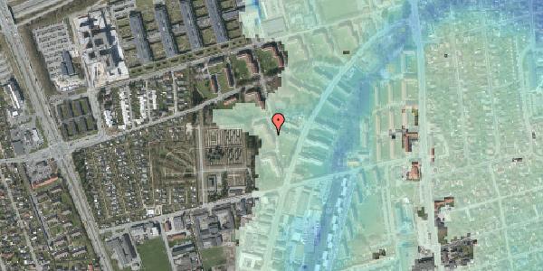 Stomflod og havvand på Arnold Nielsens Boulevard 50, st. tv, 2650 Hvidovre