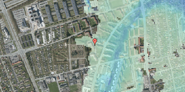 Stomflod og havvand på Arnold Nielsens Boulevard 52, 2. th, 2650 Hvidovre