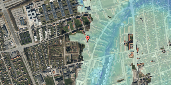 Stomflod og havvand på Arnold Nielsens Boulevard 52, 3. th, 2650 Hvidovre