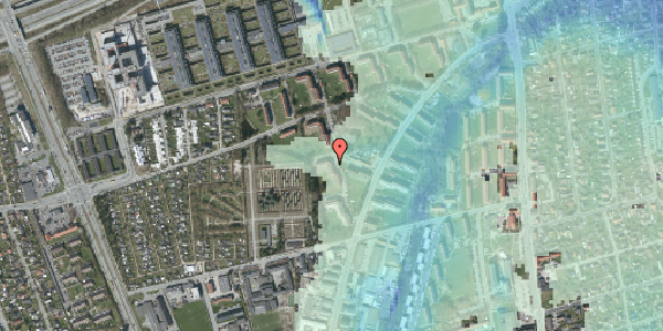 Stomflod og havvand på Arnold Nielsens Boulevard 54, st. tv, 2650 Hvidovre