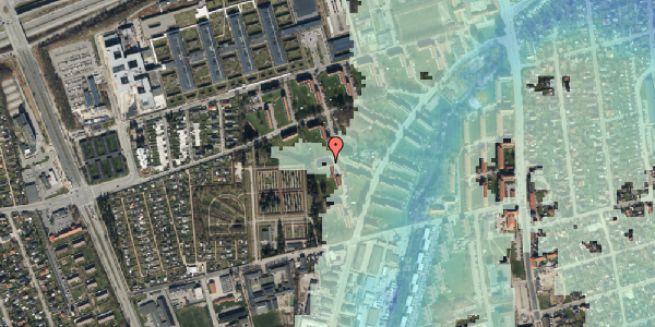 Stomflod og havvand på Arnold Nielsens Boulevard 56, 3. th, 2650 Hvidovre