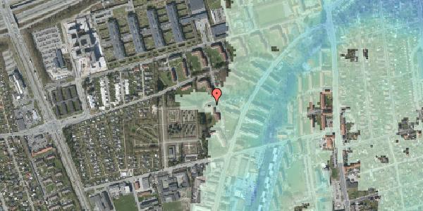 Stomflod og havvand på Arnold Nielsens Boulevard 56, 3. tv, 2650 Hvidovre