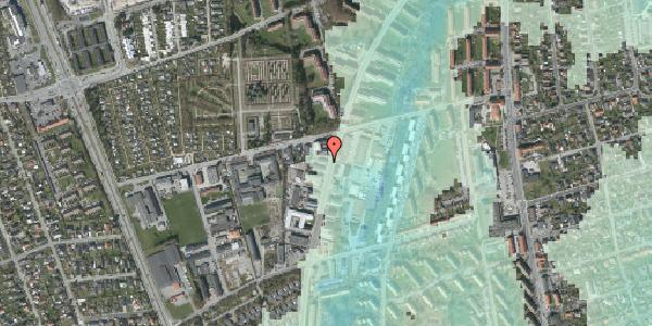 Stomflod og havvand på Arnold Nielsens Boulevard 62A, 2650 Hvidovre