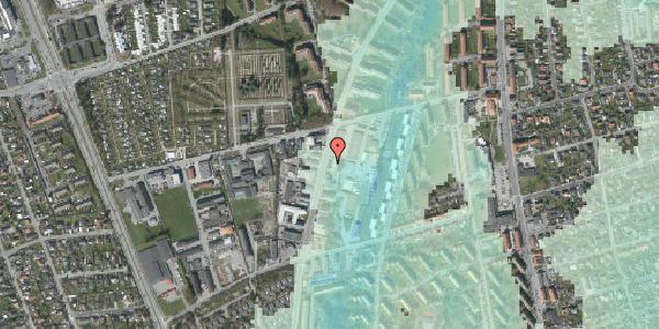 Stomflod og havvand på Arnold Nielsens Boulevard 65, 2650 Hvidovre